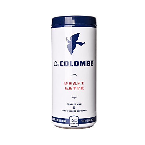 La Colombe Draft Latte - 9 Fluid Ounce, 16 Count - Cold-Pressed Espresso and Frothed Milk - Made With Real Ingredients - No Sugar Added - Grab And Go Coffee