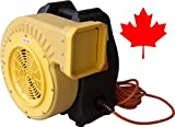 1.5 HP Zoom Blower Canadian UL Adjustable Performance Super High Output Commercial Bounce House Blower