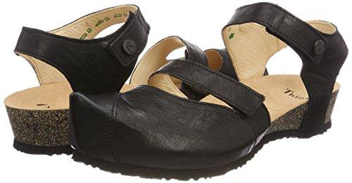 schwarz Sandals 00 Schwarz Closed 282376 Think Toe Kessy Black 00 Women''s wxwTqRg