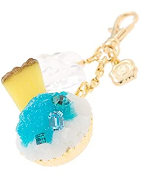 Q-pot. Blue Hawaii Shave Ice Bag Charm New From Japan