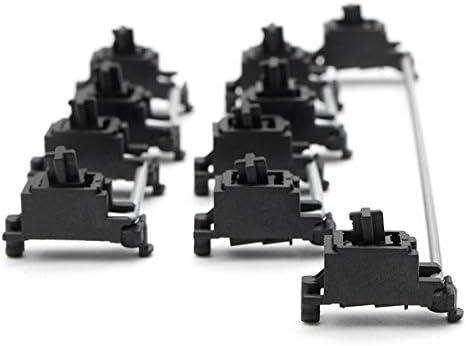 Huiingwen 104 OEM Clavier m/écanique PCB Mounted Stabilizer Case 6.25u Plaque de touches de modification