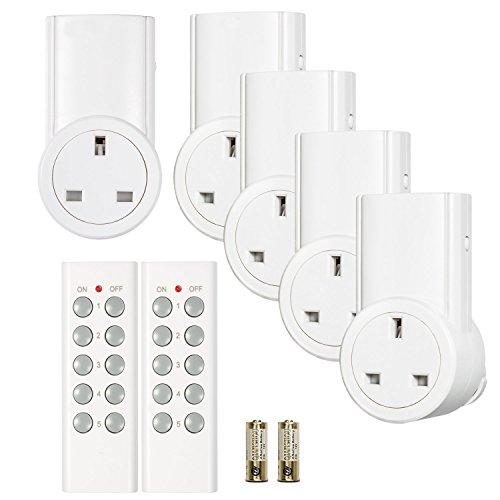 Etekcity Wireless Remote Control Sockets Programmable