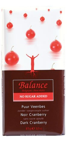 Klingele Balance - Belgian Chocolate - Dark Cranberry - 85g (Case of 12) por Klingele Balance