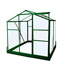 Exaco Trading GH-64G Bio-Star Pioneer Small Greenhouse 6-Feet by 4-Feet