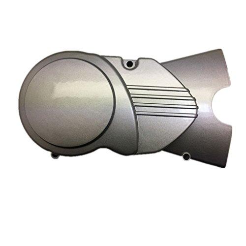 DELUXEMOTO (TM) Engine Magnetor Side Stator Cover FOR CRF 50 XR 50 SDG SSR LIFAN 107 110 125 (SILVER)