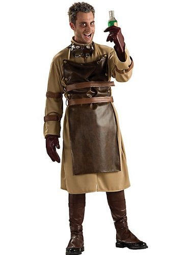 Rubies Costume Co Men's Mad Scientist Costume Brown One Size (Mad Scientist Costumes)