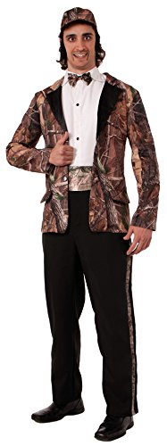 Forum Novelties Men's Huntin' For Love Groom Costume, Camouflage, One Size