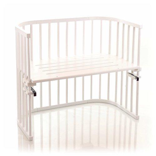babybay maxi 160102 - Beistellbett / Baby-Bettchen 'Das Große', weiß lackiert