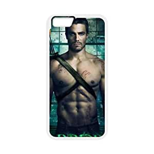 """D-PAFD Cover Shell Phone Case Green Arrow For iPhone 6 Plus (5.5"""")"""