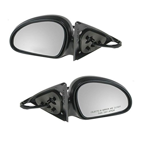 Power Side View Mirror Left & Right Pair Set for 98-03 Escort ZX2 2 Door - Coupe Escort Ford 1999 Zx2