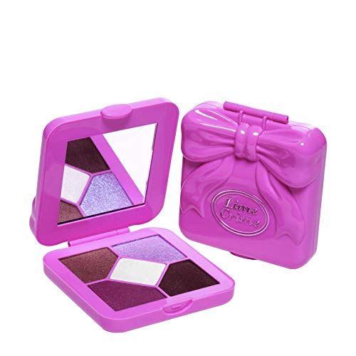 Lime Crime Pocket Candy Eyeshadow Palette, Sugar Plum - 90s Style Eyeshadow Palette with 5 Full Sized Colors - High-End Pigments, Smooth Long-Lasting Formula - Vegan