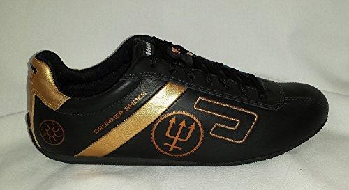 Urbann Boards ''Neil Peart Signature Shoe, Black-Gold 10'' by Urbann Boards (Image #1)
