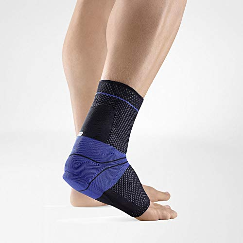 Bauerfeind – AchilloTrain – Achilles Tendon Support – Breathable Knit Ankle Brace for Targeted Relief of Achilles Tendon Without Limiting Mobility – Left Foot – Size 1 – Color Black
