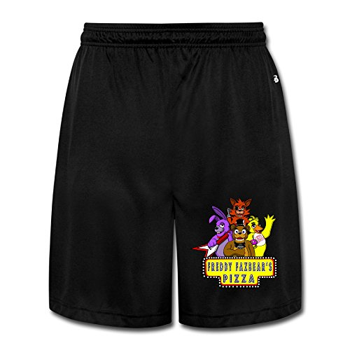 CYANY 5Nights At Freddy's FNaF Video Games Breathable Athletic Baseball Men's Performance Shorts Sweatpants M - Stanford Tree Costume