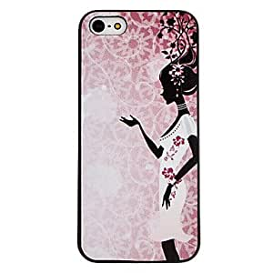 Dancer Pattern Hard Case for iPhone 5/5S