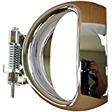 PT Auto Warehouse GM-2374M-1LH - Inside Interior Inner Door Handle Lever Only, Chrome - Driver Side