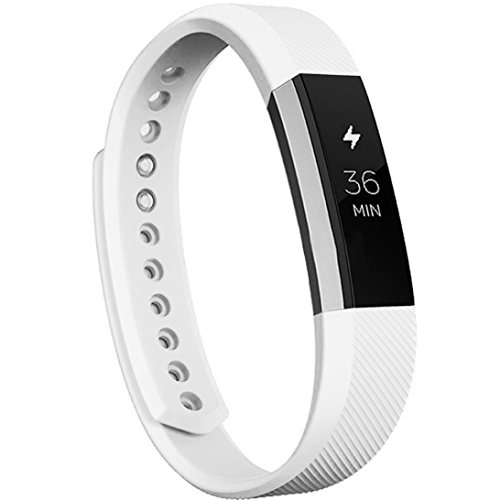 [Teresamoon Activity Silicone Wristband For Fitbit Alta Smart Watch (White)] (Hearts Costumes Shoe)