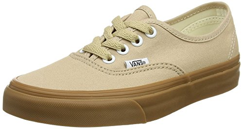 Vans Authentic Sesame/Gum Skateboard Sneakers VN0A38EMQA2 (9.5 Women