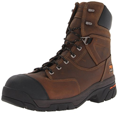 Work Pro Timberland Toe Insulated Mens Helix 8 Brown Boot Comp qrCw60Cdnx
