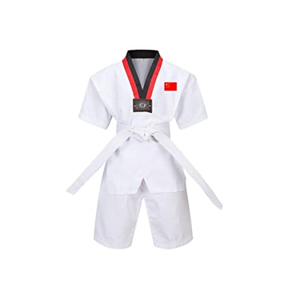 Daytwork Taekwondo Kimono Adult Niño - Cuello En V Hombre ...