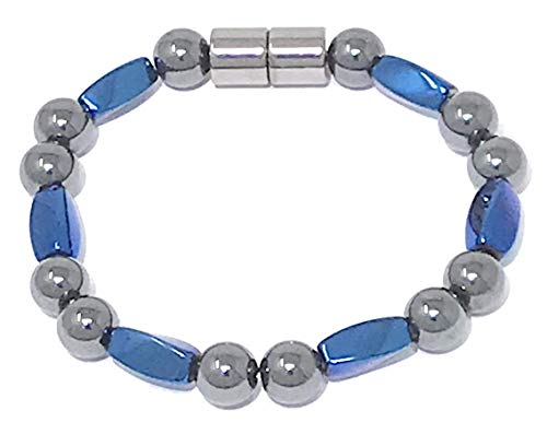 HIGHPOWER Magnetic Hematite Bracelet for Natural Pain Relief and Weight Loss (7.25 ()