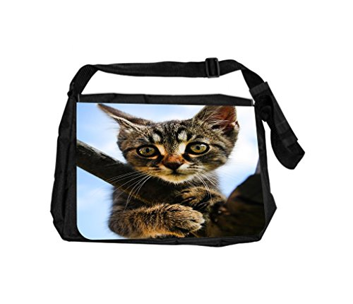 Kitty On A Branch Jacks Outlet TM Laptop Messenger - Branch Brands Outlet