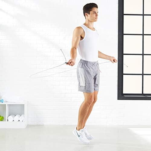 Amazon Basics Aluminum and Grip Speed Jump Rope | Revista 21-15-9