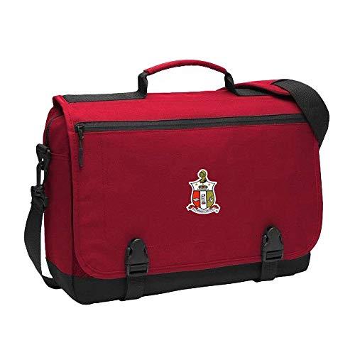 Kappa Alpha Psi Messenger Briefcase Red -