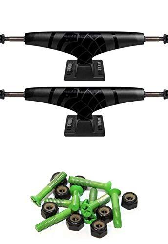 Thunder Sonora Black Trucks - Thunder Trucks 147mm Sonora Team Black Skateboard Trucks with 1