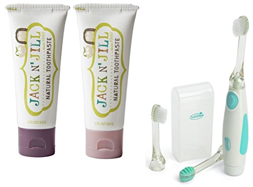 Toothpaste Vibrations Toothbrush Blackcurrant Raspberry