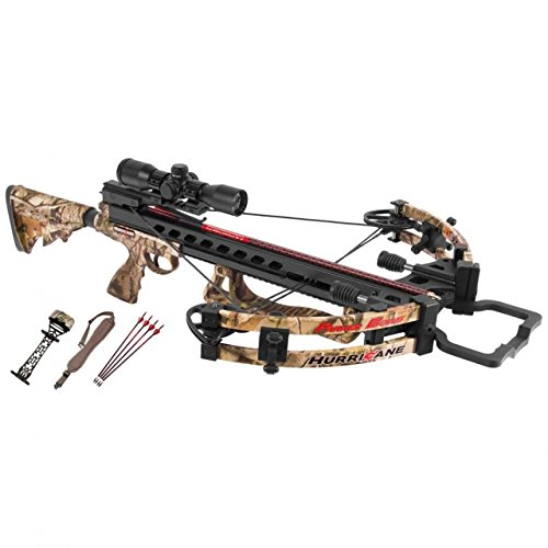 Parker 2016 Hurricane Crossbow Package w/Multi Reticle Scope (Parker Package Crossbow)