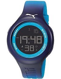 Puma PU910801030 Loop L Blue Digital Sports Silicone Watch