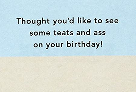 4 Out of 5 People Hallmark Shoebox Funny Birthday Card