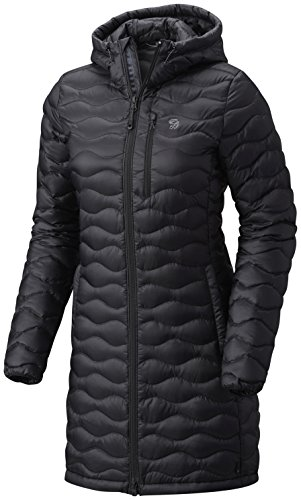 Mountain Hardwear Women's Nitrous Hooded Down Parka Black Small