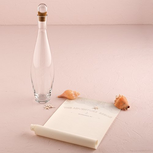 Weddingstar Message In A Bottle Time Capsule Guest Book