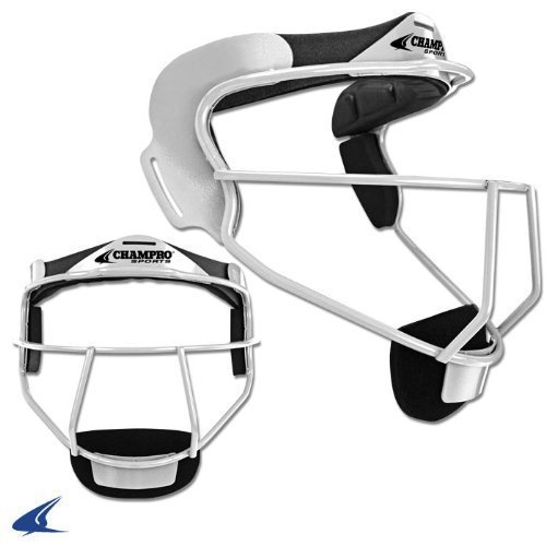 CHAMPRO Softball The Grill Fielder's Facemask WHITE ADULT Color: White Size: Adult Model: