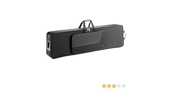 Stagg 25012779 KTC-140 - Funda para teclado (con ruedas): Amazon ...