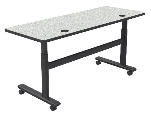 Height Adjustable Flipper Training Table Size: 60