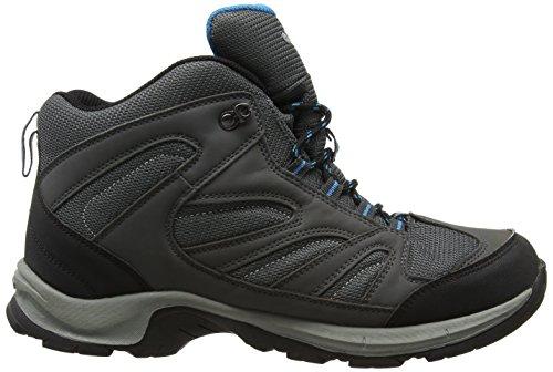 Cool High Charcoal Grey Pioneer Men's Black Boots Hi Rise Hiking Tec 6n7wxUZ