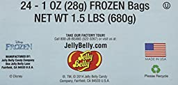 Jelly Belly Candy Jelly Beans Disney Frozen - 1 Oz. Bags (Case of 24)