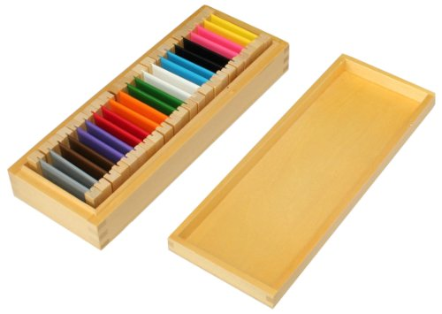 Montessori Color Tablets (Box 2) by FAC - Package International Mail Usps First-class