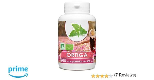Ortiga Organica - 200 tabletas 400 mg: Amazon.es: Salud y cuidado personal