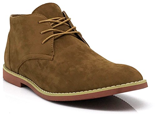 Alberto Fellini Uomo Classico Chukka Desert Oxfords Boots (dkt) Tan