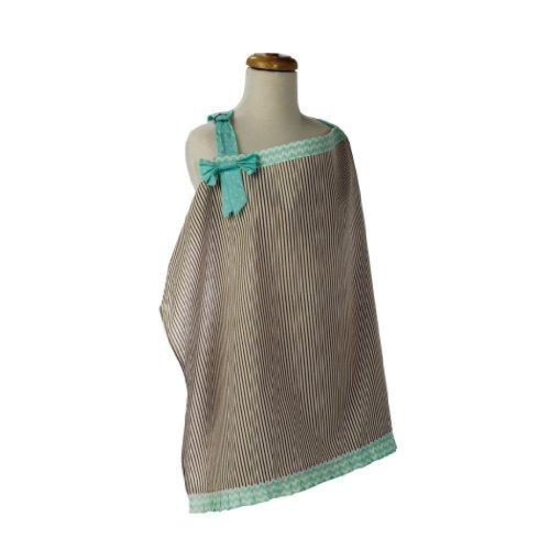 - Trend Lab Cocoa Mint Nursing Cover