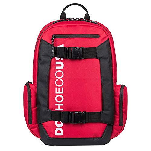 DC Shoes Mens Dc Shoes Chalkers 28L - Large Backpack - Men - One Size - Red Racing Red One Size ()