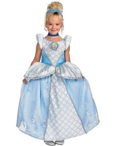 Disguise DI50484-S Girls Disney Prestige Cinderella Costume Size Small