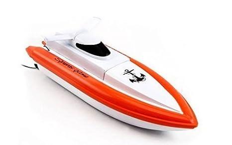 DeeXop - Barco de Carreras eléctrico con Mando a Distancia para niños y Adultos (2