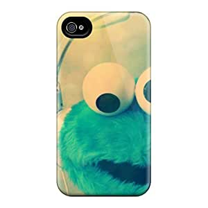 Iphone 6plus Uqa1396TVgV Customized Colorful Cookie Monster Pattern Protective Hard Cell-phone Case -JohnPrimeauMaurice