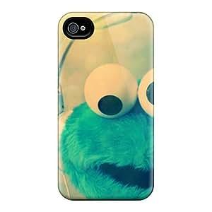 Iwe7158BpSf Richardcustom2008 Cookie Monster Durable Iphone 6 Tpu Flexible Soft Cases