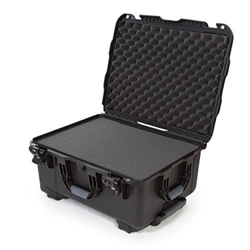 Nanuk 950 Waterproof Hard Case with Wheels and Foam Insert - Black